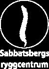 Sabbatsbergs Ryggcentrum -Sjukgymnastik – kiropraktik –  Medicinsk Fotvård i Stockholm Logo
