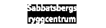 Sabbatsbergs Ryggcentrum -Sjukgymnastik – Naprapati- kiropraktik –  Medicinsk Fotvård i Stockholm Logotyp